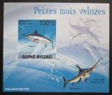 Poštovní známka Guinea-Bissau 2009 Ryby DELUXE neperf. Mi# 4344 B Block