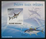 Poštovní známka Guinea-Bissau 2009 Ryby DELUXE neperf. Mi# 4346 B Block