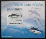 Poštovní známka Guinea-Bissau 2009 Ryby DELUXE neperf. Mi# 4347 B Block