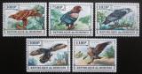 Poštovní známky Burundi 2013 Dravci Mi# 3243-47 Kat 10€