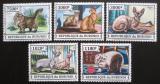 Poštovní známky Burundi 2013 Kočky Mi# 3248-52 Kat 10€