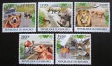 Poštovní známky Burundi 2012 Savci Mi# 2570-74 Kat 10€