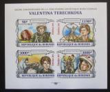 Poštovní známky Burundi 2013 Valentina Těreškovová neperf. Mi# 3123-26 B