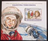 Poštovní známka Burundi 2013 Valentina Těreškovová neperf. Mi# Block 349 B