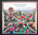 Poštovní známky Burundi 2012 Bubeníci a tanečníci neperf. Mi# 2695-98 B