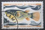 Poštovní známka Čad 1969 Tetraodon fahaka strigosus Mi# 284