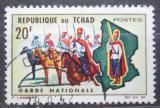 Poštovní známka Čad 1964 Národní garda Mi# 127