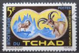 Poštovní známka Čad 1965 Paovce hřívnatá Mi# 129