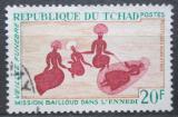 Poštovní známka Čad 1968 Skalní malba z pohoří Ennedi Mi# 215