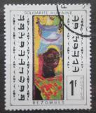 Poštovní známka Čad 1969 Umění, Roger Bezombes Mi# 267