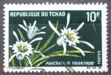 Poštovní známka Čad 1969 Pancratium trianthum Mi# 273