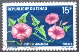 Poštovní známka Čad 1969 Ipomoea aquatica Mi# 274