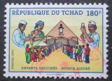 Poštovní známka Čad 1991 Preventivní očkování Mi# 1199