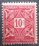 Poštovní známka Francouzský Súdán 1931 Doplatní Mi# 12