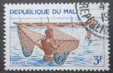 Poštovní známka Mali 1966 Tradiční rybolov Mi# 125