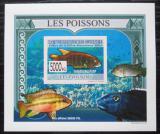 Poštovní známka Guinea 2009 Ryby DELUXE neperf. Mi# 6377 B Block