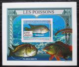 Poštovní známka Guinea 2009 Ryby DELUXE neperf. Mi# 6378 B Block