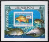 Poštovní známka Guinea 2009 Ryby DELUXE neperf. Mi# 6379 B Block