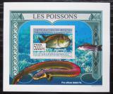 Poštovní známka Guinea 2009 Ryby DELUXE neperf. Mi# 6380 B Block