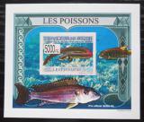 Poštovní známka Guinea 2009 Ryby DELUXE neperf. Mi# 6381 B Block
