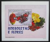 Poštovní známka Mosambik 2007 Motýli DELUXE neperf. Mi# 2928 B Block