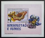 Poštovní známka Mosambik 2007 Motýli DELUXE neperf. Mi# 2929 B Block