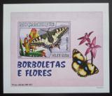 Poštovní známka Mosambik 2007 Motýli DELUXE neperf. Mi# 2930 B Block