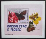 Poštovní známka Mosambik 2007 Motýli DELUXE neperf. Mi# 2931 B Block