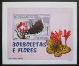 Poštovní známka Mosambik 2007 Motýli DELUXE neperf. Mi# 2933 B Block