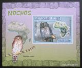 Poštovní známka Mosambik 2007 Sovy DELUXE neperf. Mi# 3022 B Block