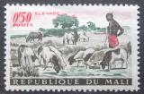 Poštovní známka Mali 1961 Stádo ovcí Mi# 30