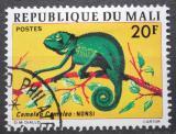 Poštovní známka Mali 1976 Chameleon obecný Mi# 523