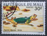 Poštovní známka Mali 1976 Agama osadní Mi# 524