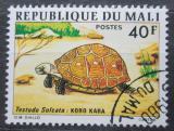 Poštovní známka Mali 1976 Želva ostruhatá Mi# 525