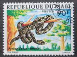 Poštovní známka Mali 1976 Krajta písmenková Mi# 526