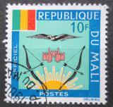 Poštovní známka Mali 1964 Státní znak, služební Mi# 16