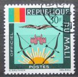 Poštovní známka Mali 1964 Státní znak, služební Mi# 18