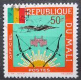 Poštovní známka Mali 1964 Státní znak, služební Mi# 19