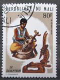Poštovní známka Mali 1974 Řezbář Mi# 451