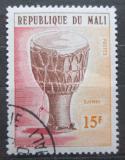 Poštovní známka Mali 1973 Hudební nástroj Djembe Mi# 419