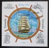 Poštovní známka Tanzánie 1994 Plachetnice Mi# Block 244