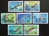 Poštovní známky Tanzánie 1993 Žraloci Mi# 1583-89