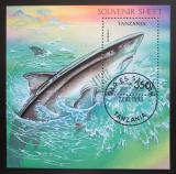 Poštovní známka Tanzánie 1993 Žralok Mi# Block 225