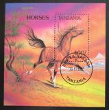 Poštovní známka Tanzánie 1993 Anglonorman Mi# Block 235