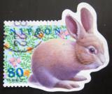 Poštovní známka  Japonsko 1999 Králík Mi# 2651