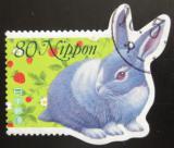Poštovní známka Japonsko 1998 Králík Mi# 2546