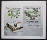 Poštovní známka Mosambik 2010 Dravci DELUXE neperf. Mi# 3505 B Block