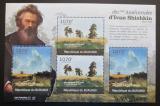 Poštovní známky Burundi 2012 Umění, Ivan Šiškin DELUXE Mi# 2319-20 Kat 10€