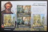 Poštovní známky Burundi 2012 Umění, Ivan Šiškin DELUXE Mi# 2321-22 Kat 10€