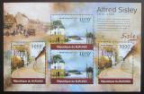 Poštovní známky Burundi 2012 Umění, Alfred Sisley DELUXE Mi# 2325-26 Kat 10€